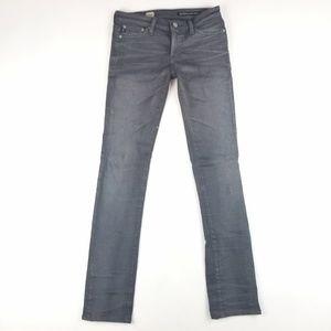 Womens Ag Adriano Goldschimed Skinny Straight Jean